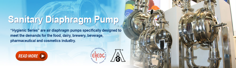 Sanitary Diaphragm Pump